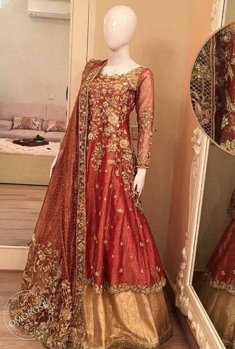 Best Mehndi Dresses For Pakistani Brides 2018-2019